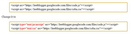 Cara Menjadikan Blogspot Valid HTML5