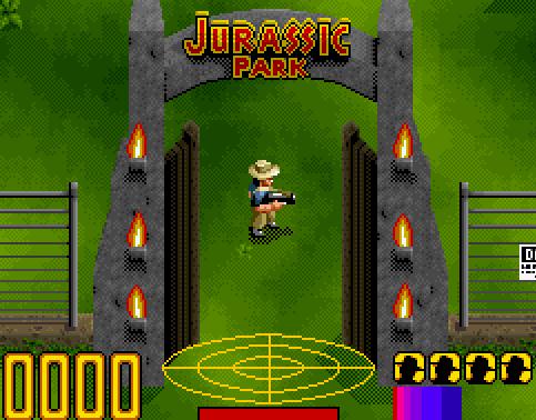 jurassic parck videojuego snes rom descargar gratis