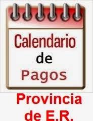 CRONOGRAMA PROVINCIAL DE PAGOS