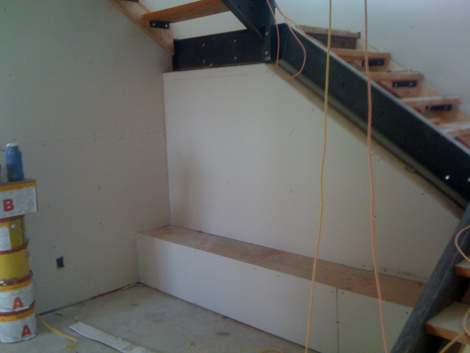 basement stair landing ideas ground floor stair landing