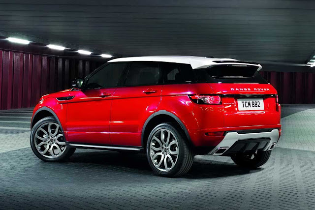 2012 Land Rover Range Rover Evoque 5-door Pics