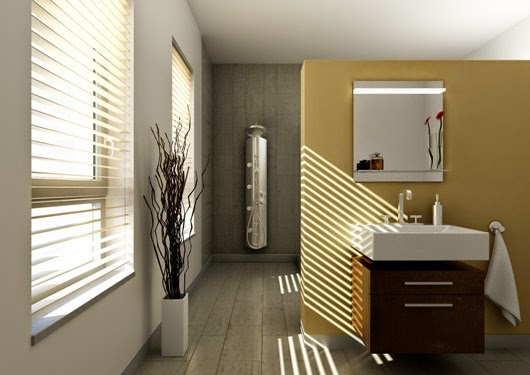 Blinds For The Bathroom