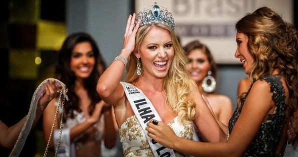 Miss Brazil Brasil World Mundo 2013 Sancler Frantz Konze