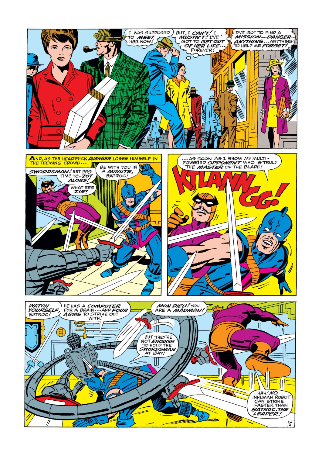 Captain America (1968) Issue #105 #19 - English 6