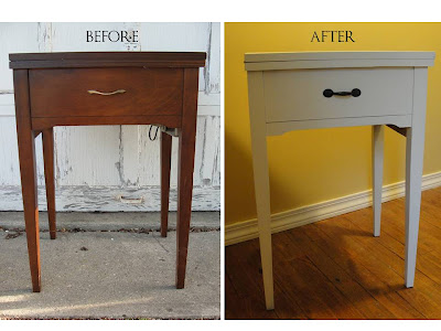 A $3 Sewing Table Makeover