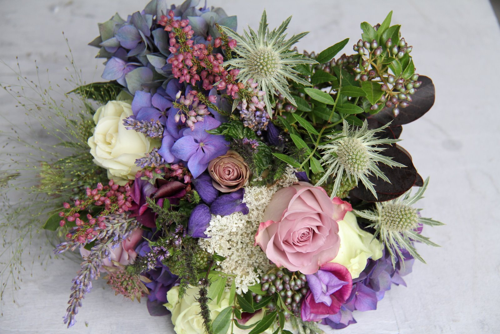 The Flower Magician: A Really Lovely Late Summer Wedding Bouquet