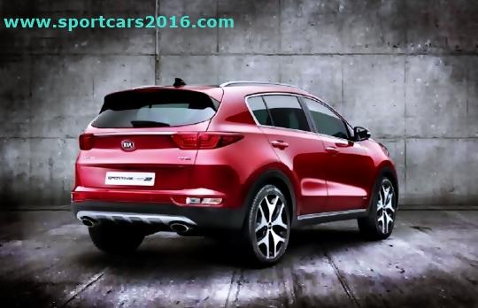 2017 Kia Sportage Colors