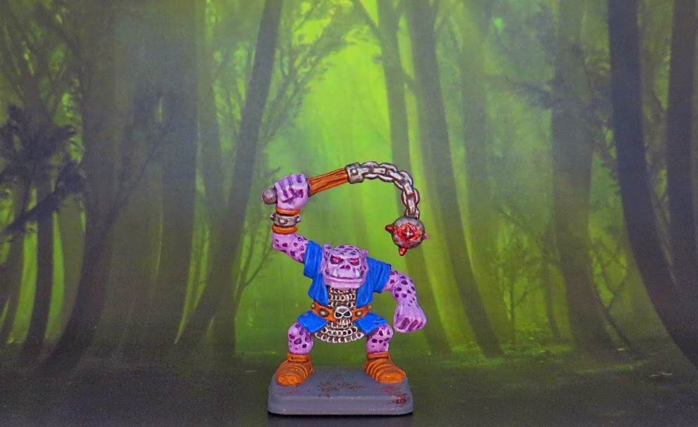 Heroquest, Orc, Painted
