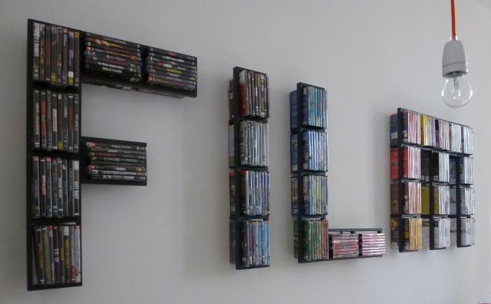 Полки для dvd дисков