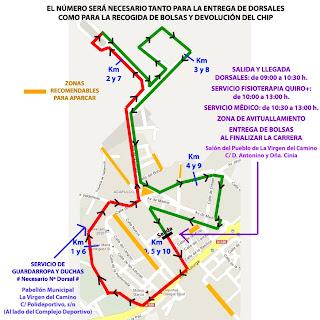 carrera 10 kms La Virgen del Camino