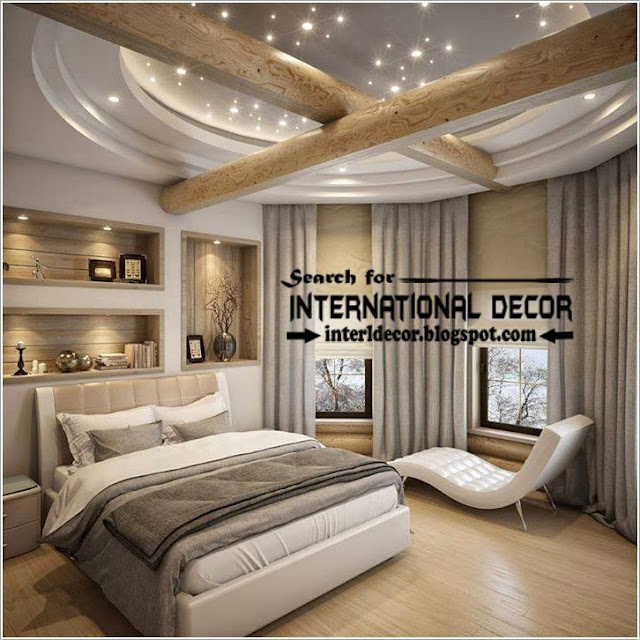Contemporary pop false ceiling designs for bedroom 2015 for Bedroom decoration 2015