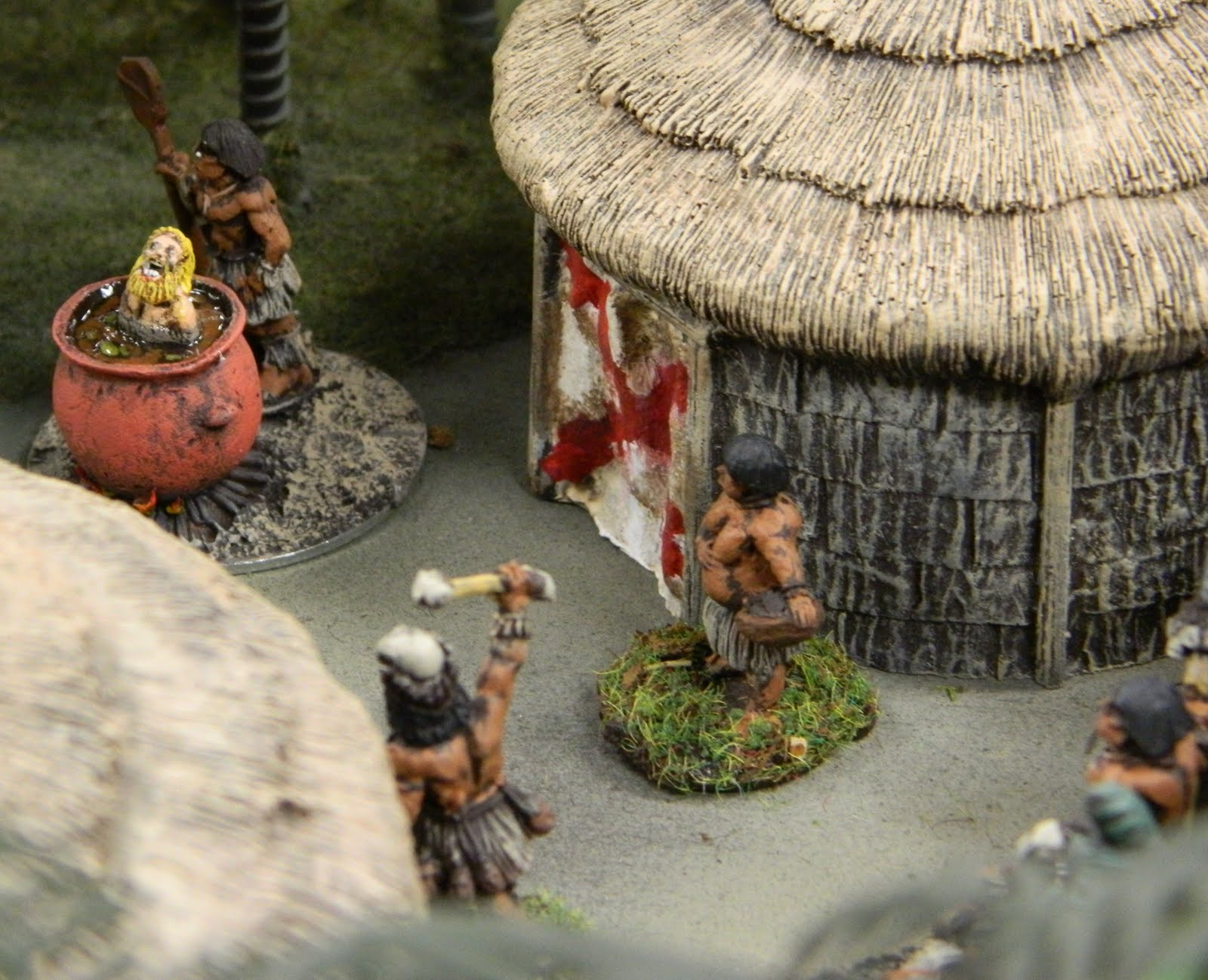 Fist Full Of Seamen Fifteen Miniatures On A Lead Man S Chest Boarder Wars