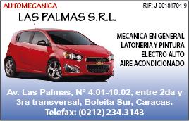 AUTOMECANICA LAS PALMAS S.R.L. en Paginas Amarillas tu guia Comercial