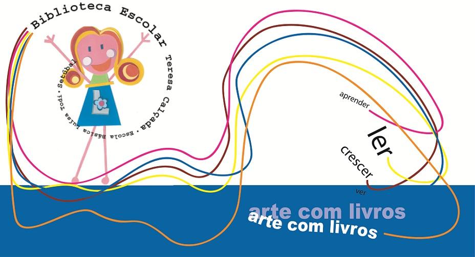 ARTE COM LIVROS