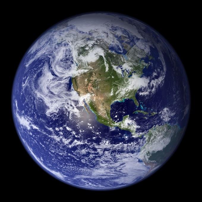 Colagem de imagens de satélite gera a melhor foto da Terra já produzida