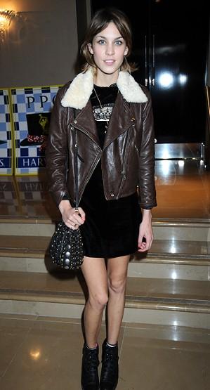 alexa chung on a nice jacket
