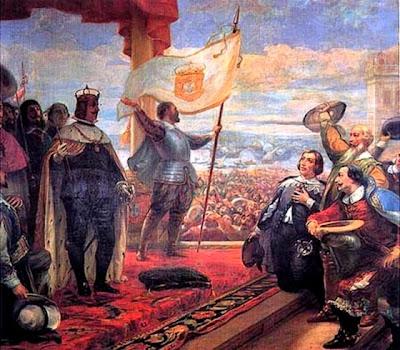 8 reales 1668 de Carlos II. Potosí. Tipo macuquina. Dedicada a Harpomarx Guerra+de+Restauraci%25C3%25B3n+Portuguesa