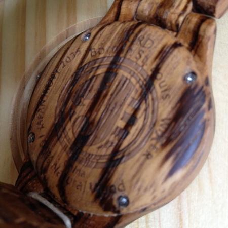 Jord wood watch Fieldcrest series Zebrawood & Maple