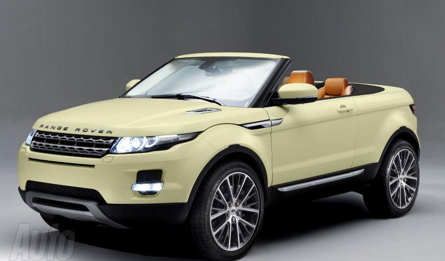 Range rover evoque cabriolet detail and photos garage car for Land rover garage