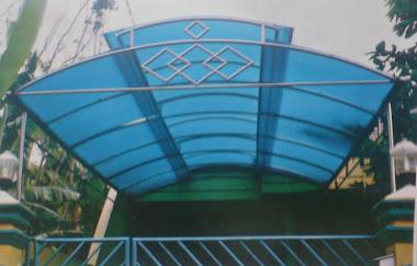 kanopy polycarbonate stainlees steel