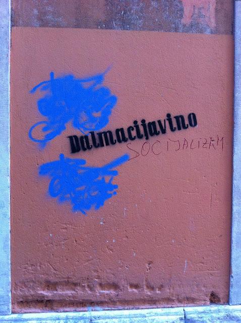 Graffiti, Split - 'Dalmacijavino Socijalizm'