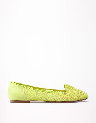 Bershka slipper flúor