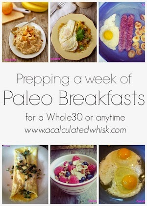 Prepping a Week of Paleo Breakfasts | acalculatedwhisk.com