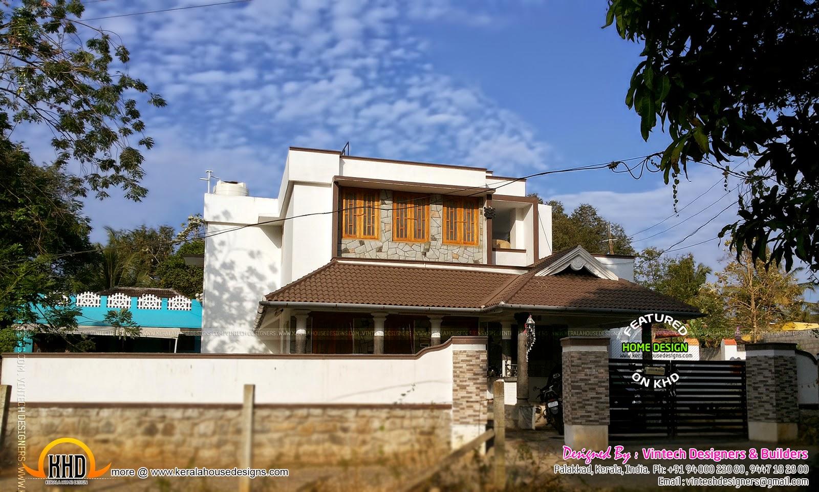 1800 House At Kannadi Palakkad Kerala Home Design