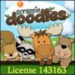 Scrappin doodles Lizenz: