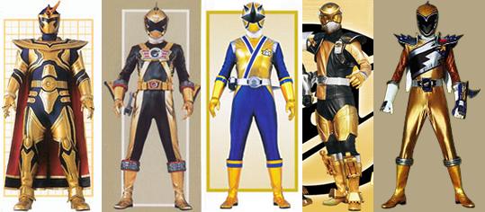 Power Rangers Rpm Gold...