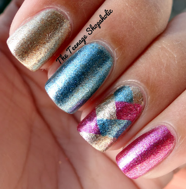 diva's diary 31 days of nail art