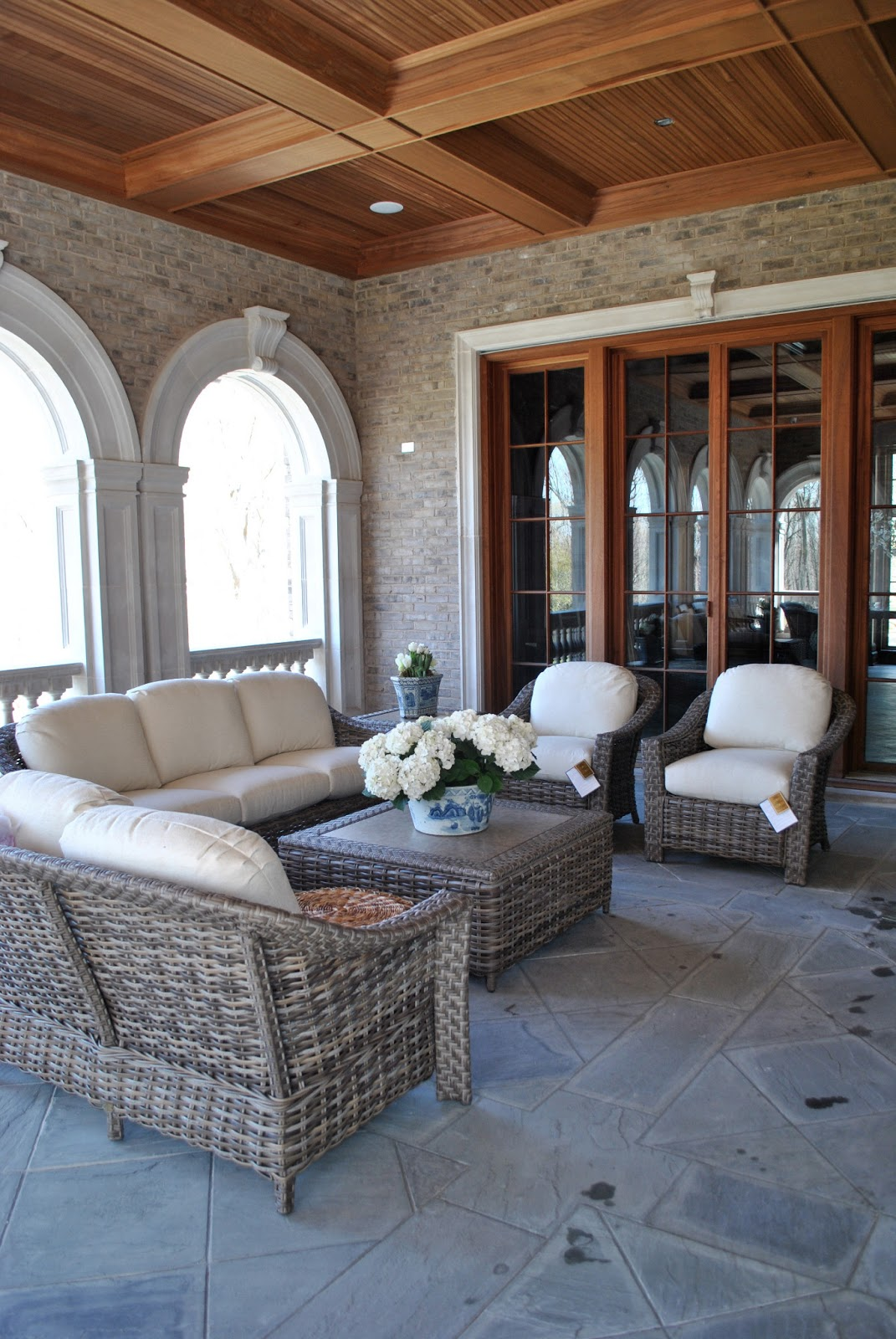 The Enchanted Home My Loggia Reveal And A Giveaway