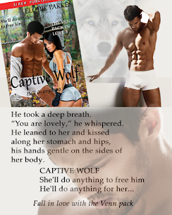 New release, Captive Wolf, The Venn Pack in Love 3
