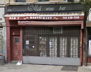 Olla Wine Bar 7204 3rd Ave Closed in June-July