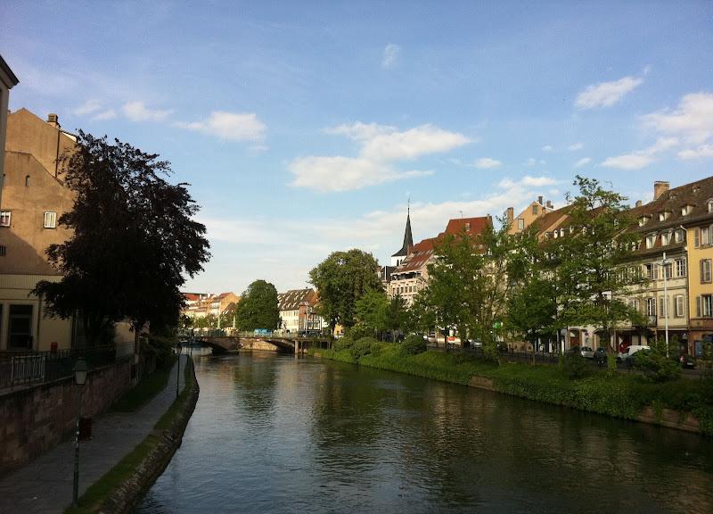 Река Иль в Страсбурге