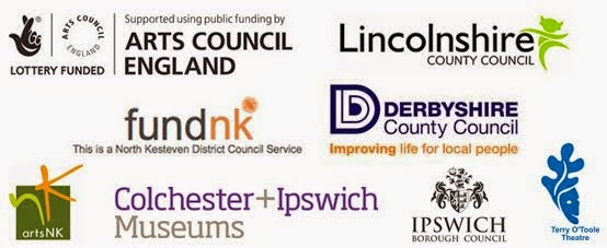 Dancing In Museums partner logos 2014
