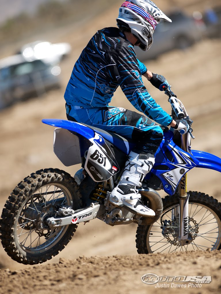 Filename 1 25 2011 MCUSA 250 Project152011 Yamaha YZ250 Project Bike