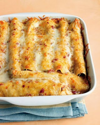 Skinny Chicken Enchiladas Recipe