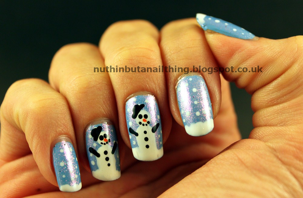 nuthin\' but a nail thing: Let it snow, let it snow, let it snow!