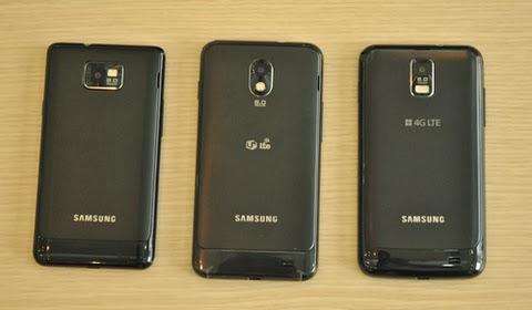 Mặt sau Samsung Galaxy S2 HD Lte
