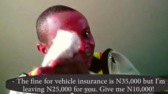 nigerian police bribe computer village