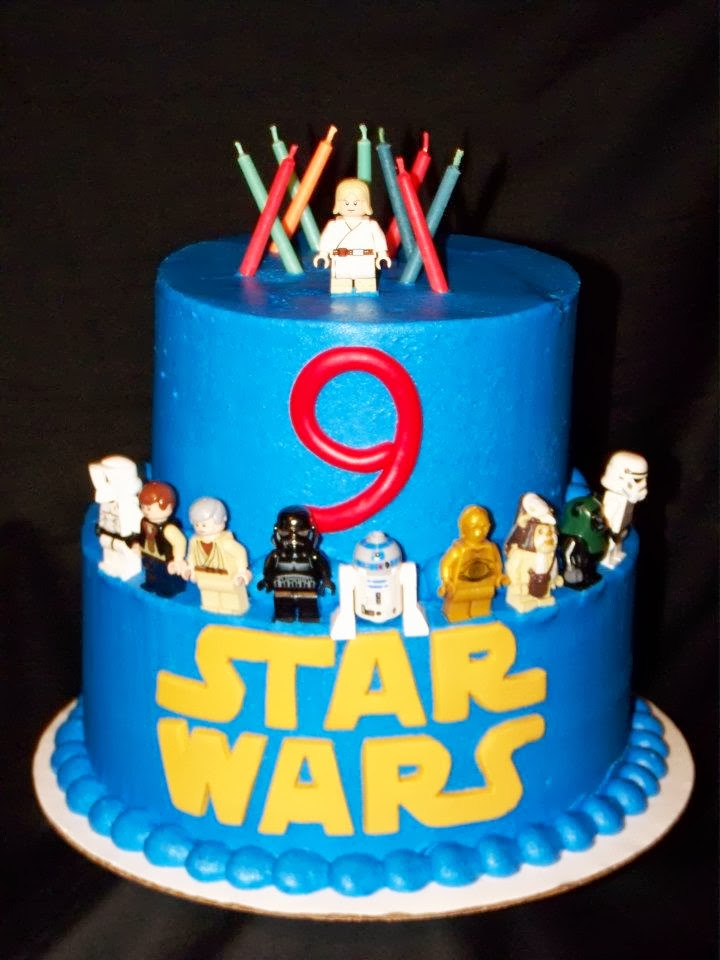 Cakes by Kristen H Star Wars cake