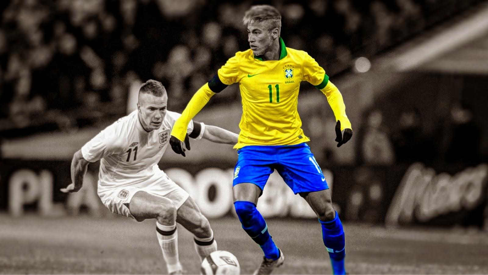 مهارات اللاعب نيمار البرازيلي.