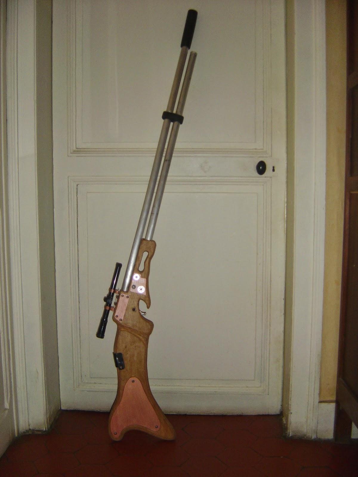 fusil steampunk