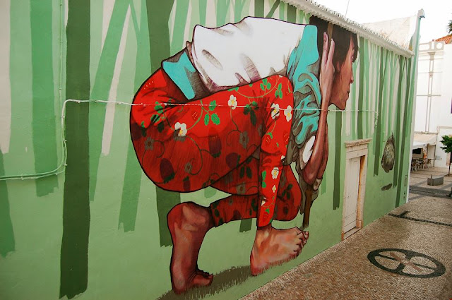 Street Art By Bezt From Etam Cru For Arturb Urban Art Festival In lagos, Portugal. 3