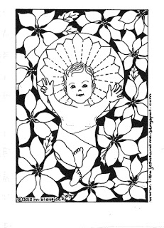 free catholic christmas coloring pages - photo#25