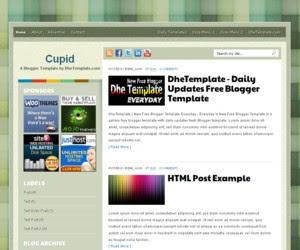 Cupid Blogger Template