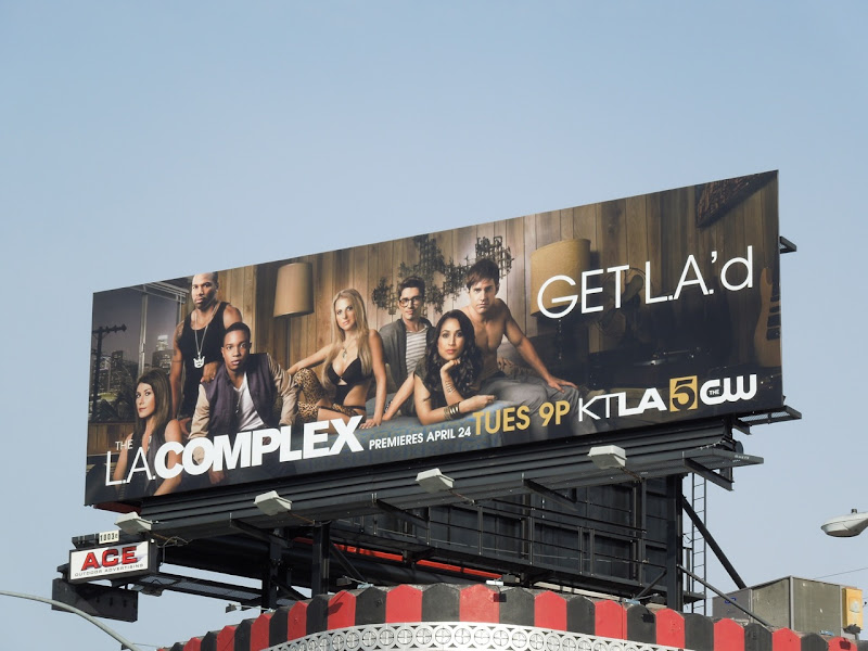 LA Complex billboard
