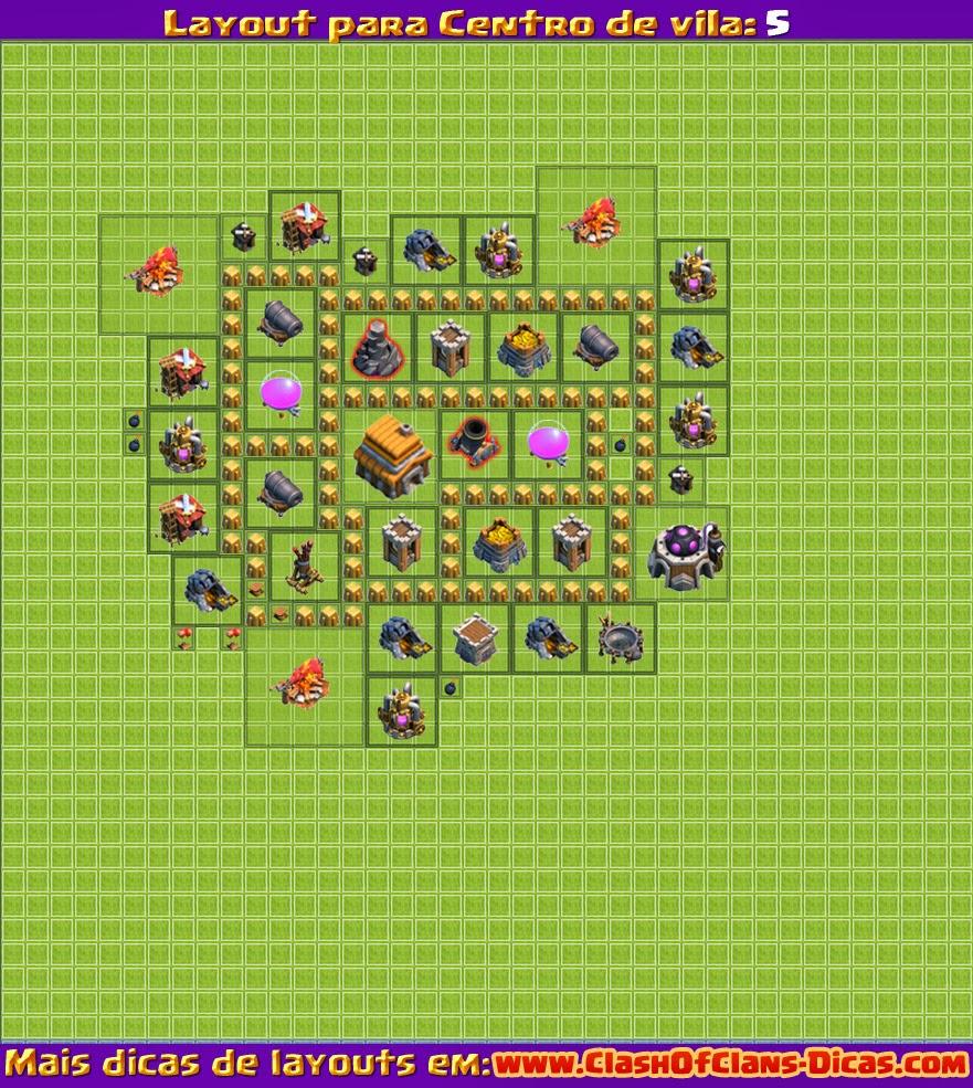 melhores layouts para centro de vila 5