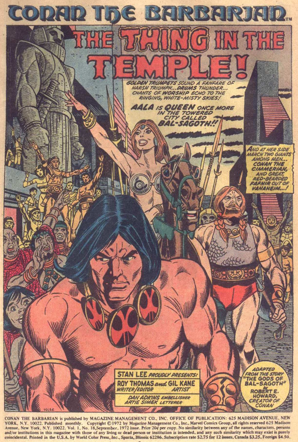 Conan the Barbarian (1970) Issue #18 #30 - English 2